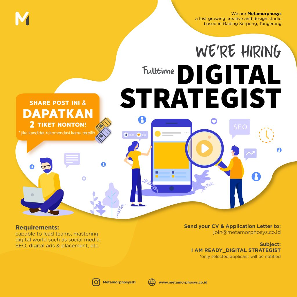 digital strategist poster