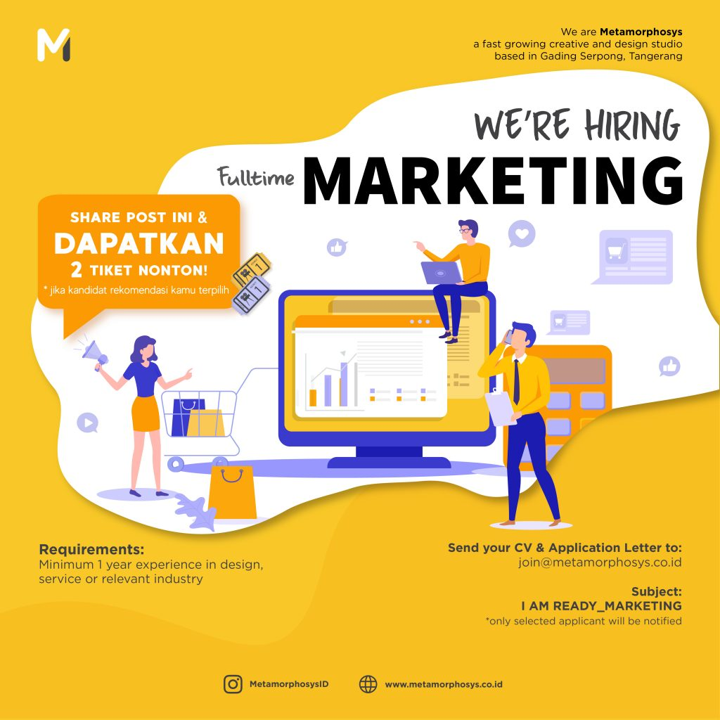 marketing poster